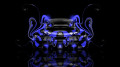 Bugatti-Veyron-Back-Super-Plastic-Car-2014-Blue-Neon-design-by-Tony-Kokhan-[www.el-tony.com]