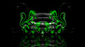 Bugatti-Veyron-Back-Super-Plastic-Car-2014-Green-Neon-design-by-Tony-Kokhan-[www.el-tony.com]