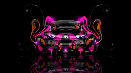 Bugatti-Veyron-Back-Super-Plastic-Car-2014-HD-Wallpapers-design-by-Tony-Kokhan-[www.el-tony.com]