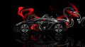 Bugatti-Veyron-Side-Plastic-Car-2014-Orange-Neon-HD-Wallpapers-design-by-Tony-Kokhan-[www.el-tony.com]