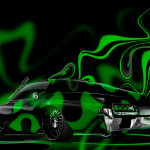 Buick Riviera Fantasy Plastic Abstract Car 2014