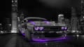 Dodge-Challenger-Muscle-Crystal-City-Car-2014-Violet-Neon-HD-Wallpapers-design-by-Tony-Kokhan-[www.el-tony.com]