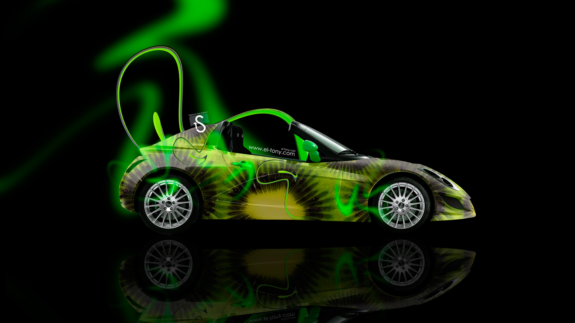 Etonnant Edag Neon Kiwi Car 2014 HD Wallpapers Design