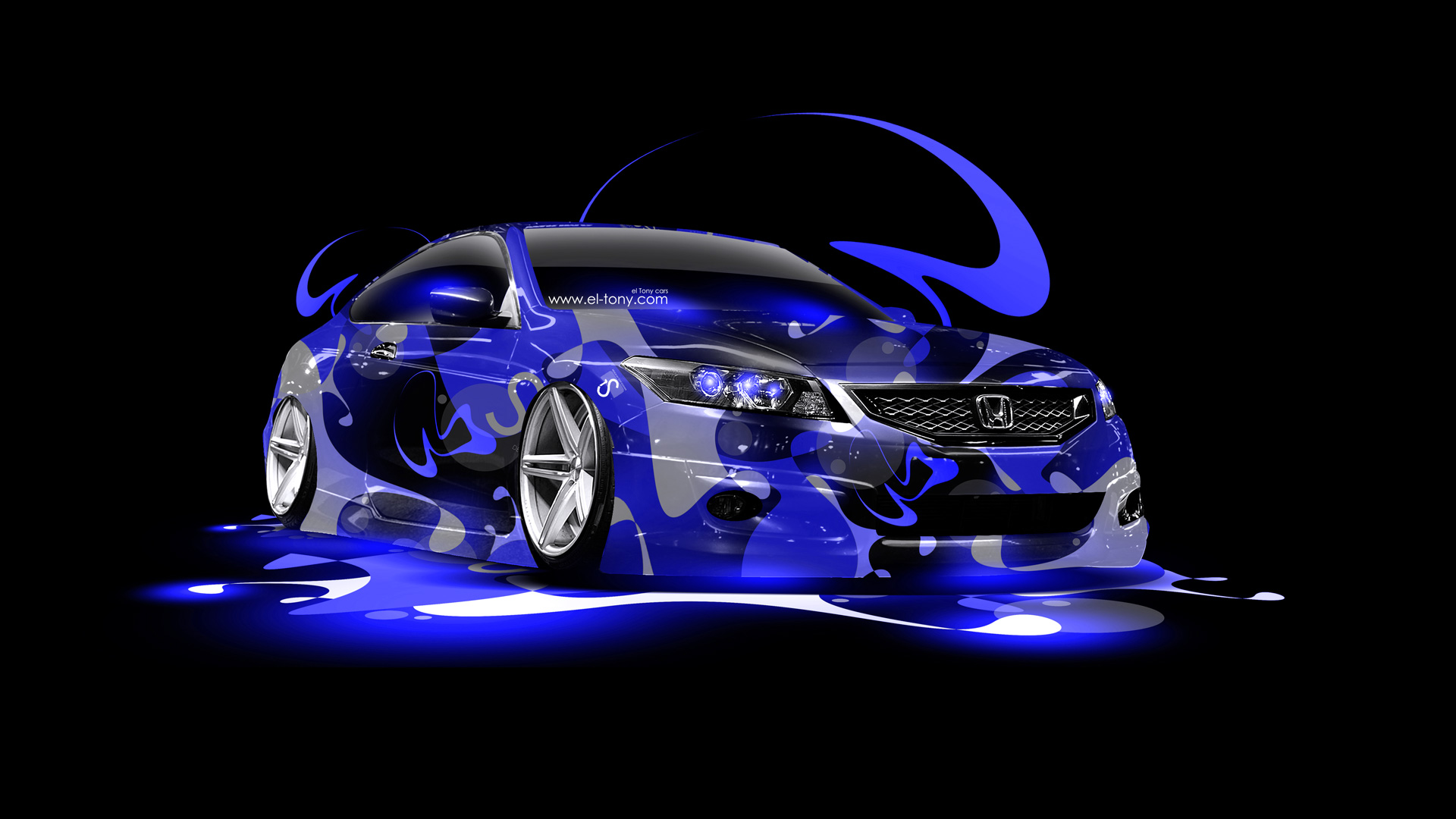 Exceptionnel TS Scorpio Neon Car 2014 · Honda Accord Coupe JDM Super Abstract Car 2014