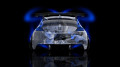 Honda-CR-Z-Tuning-Back-Anime-Aerography-Car-2014-Blue-Neon-design-by-Tony-Kokhan-[www.el-tony.com]