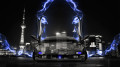 Lamborghini-Diablo-Open-Doors-Crystal-Energy-Car-2014-Blue-Neon-HD-Wallpapers-design-by-Tony-Kokhan-[www.el-tony.com]