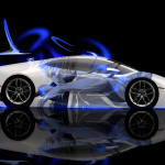 Lamborghini Huracan Side Anime Aerography Car 2014