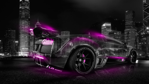 Lamborghni-Murcielago-Tuning-Crystal-City-Car-2014-Pink-Neon-design-by-Tony-Kokhan-[www.el-tony.com]