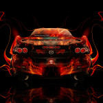 Mazda RX7 JDM Back Up Fire Car 2014