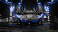 McLaren-P1-Open-Doors-Front-Crystal-City-Blue-Energy-Car-2014-HD-Wallpapers-design-by-Tony-Kokhan-[www.el-tony.com]