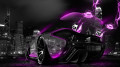 McLaren-P1-Pink-Neon-Energy-Crystal-City-Car-2014-HD-Wallpapers-design-by-Tony-Kokhan-[www.el-tony.com]