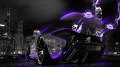McLaren-P1-Violet-Neon-Energy-Crystal-City-Car-2014-HD-Wallpapers-design-by-Tony-Kokhan-[www.el-tony.com]