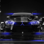 Mitsubishi Lancer Evolution X Tuning Front Crystal City Car 2014