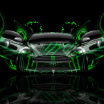 Monster Energy Aston Martin DB9 Plastic Car 2014