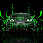 Monster Energy Nissan Skyline GTR R33 2014