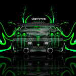 Monster Energy Nissan Skyline GTR R34 Back Plastic Car 2014