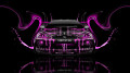 Monster-Energy-Nissan-Skyline-GTR-R34-JDM-Front-Plastic-Car-2014-Pink-Neon-design-by-Tony-Kokhan-[www.el-tony.com]