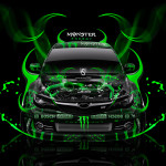 Monster Energy Subaru Impreza WRX STI Plastic Car 2014