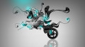 Moto-Yamaha-Vmax-Fantasy-Tiger-Plastic-Azure-Neon-Bike-2014-Creative-HD-Wallpapers-design-by-Tony-Kokhan-[www.el-tony.com]
