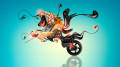 Moto-Yamaha-Vmax-Fantasy-Tiger-Plastic-Neon-Bike-2014-Creative-HD-Wallpapers-design-by-Tony-Kokhan-[www.el-tony.com]