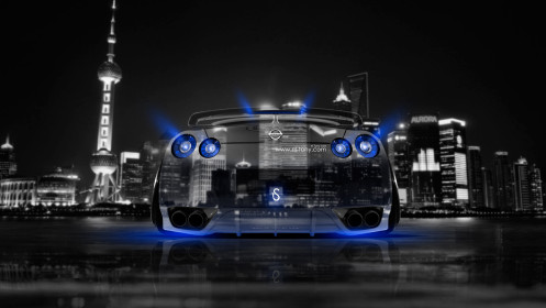 Nissan-GTR-R35-Back-Crystal-City-Car-2014-Blue-Neon-design-by-Tony-Kokhan-[www.el-tony.com]
