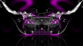 Nissan-GTR-R35-Back-Water-Car-2014-Pink-Neon-HD-Wallpapers-design-by-Tony-Kokhan-[www.el-tony.com]