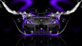 Nissan-GTR-R35-Back-Water-Car-2014-Violet-Neon-HD-Wallpapers-design-by-Tony-Kokhan-[www.el-tony.com]