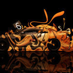 Nissan GTR R35 Side Fantasy Plastic Tiger Car 2014