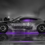 Nissan GTR R35 Tuning Side Crystal City Car 2014