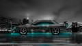 Nissan-Silvia-S13-JDM-Side-Crystal-City-Car-2014-Azure-Neon-Colors-HD-Wallpapers-design-by-Tony-Kokhan-[www.el-tony.com]