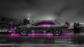Nissan-Silvia-S13-JDM-Side-Crystal-City-Car-2014-Pink-Neon-Colors-HD-Wallpapers-design-by-Tony-Kokhan-[www.el-tony.com]