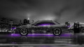 Nissan-Silvia-S13-JDM-Side-Crystal-City-Car-2014-Violet-Neon-Colors-HD-Wallpapers-design-by-Tony-Kokhan-[www.el-tony.com]