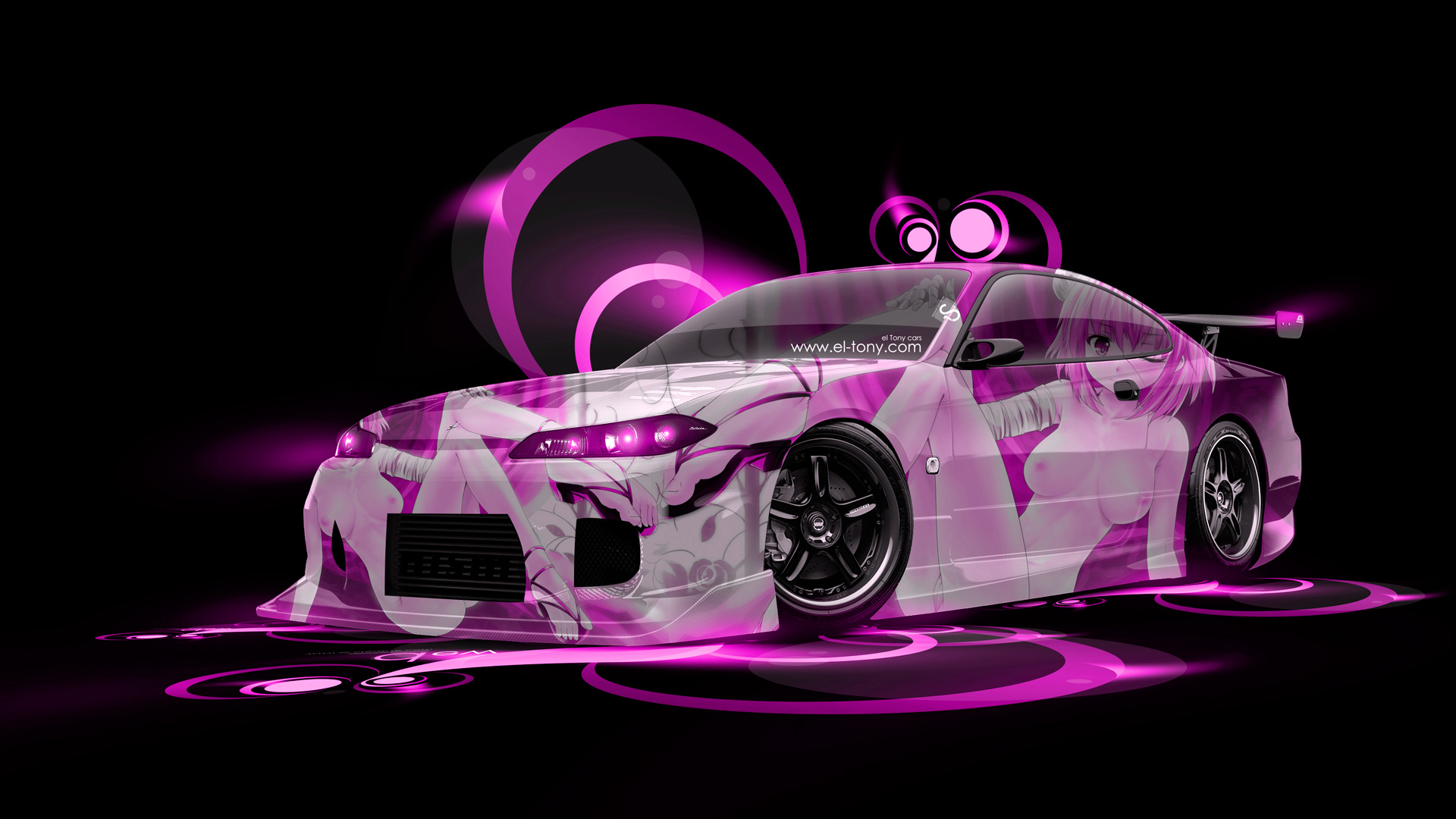 Ordinaire Nissan Silvia S15 JDM Anime Aerography Car 2014