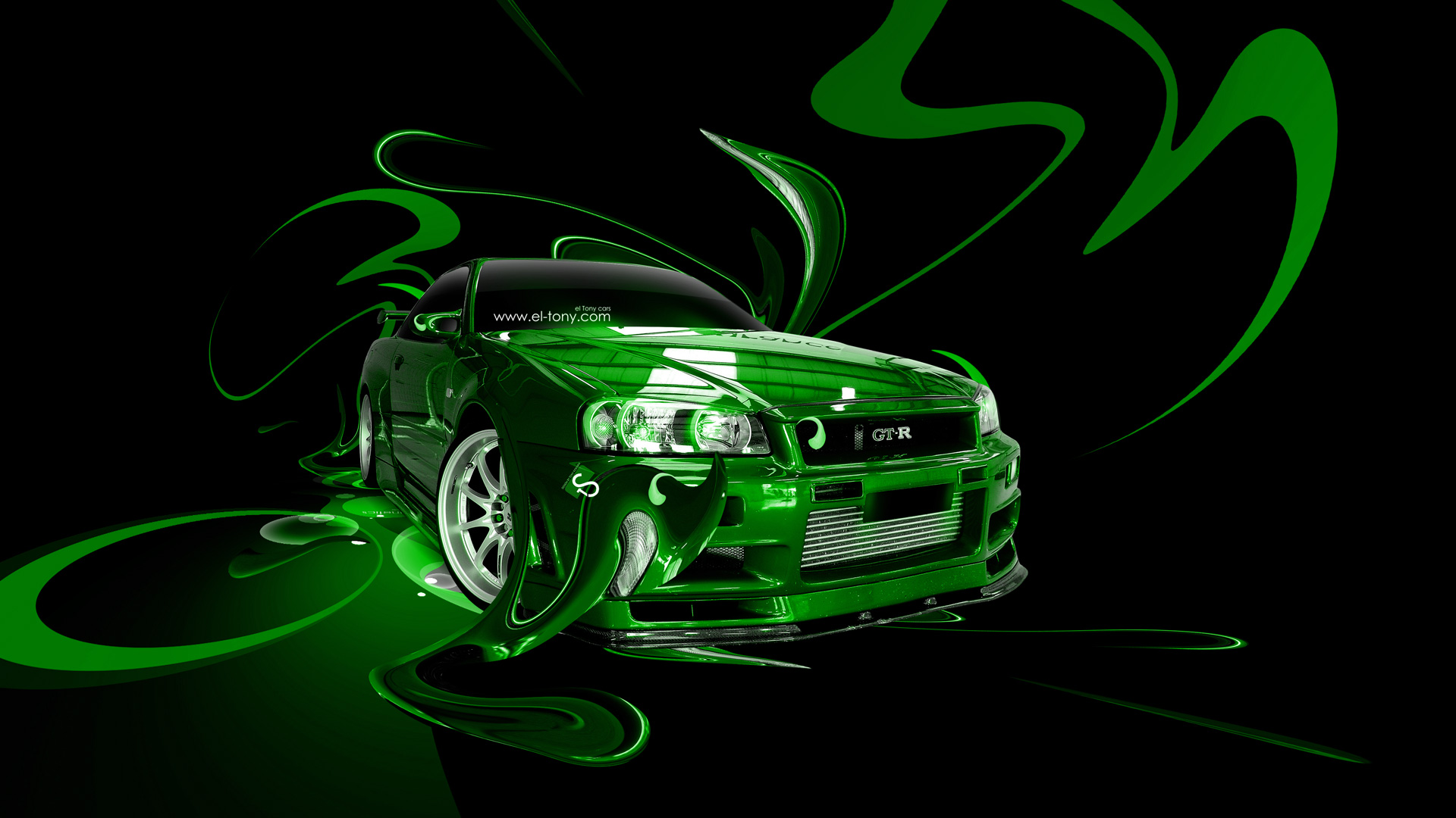 Delicieux ... Nissan Skyline GTR R34 Fantasy Plastic Abstract Car  ...