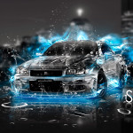 Nissan Skyline GTR R34 Fantasy Water Energy Car 2014
