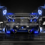 Nissan Skyline GTR R34 JDM Back Crystal Energy City Car 2014