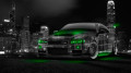 Nissan-Skyline-GTR-R34-JDM-Front-Side-Crystal-City-Car-2014-Green-Neon-design-by-Tony-Kokhan-[www.el-tony.com]
