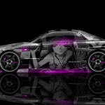 Nissan Skyline GTR R34 Anime Aerography Car 2014