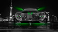 Pagani-Zonda-C12-Front-Crystal-City-Car-2014-Green-Neon-HD-Wallpapers-design-by-Tony-Kokhan-[www.el-tony.com]