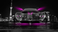 Pagani-Zonda-C12-Front-Crystal-City-Car-2014-Pink-Neon-HD-Wallpapers-design-by-Tony-Kokhan-[www.el-tony.com]