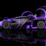 Peugeot Onyx Side Super Abstract Car 2014