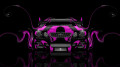 Toyota-Aristo-JDM-Tuning-Front-Pink-Plastic-Car-2014-HD-Wallpapers-design-by-Tony-Kokhan-[www.el-tony.com]