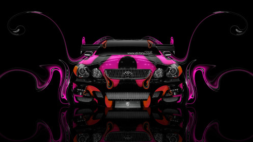Toyota-Aristo-JDM-Tuning-Front-Plastic-Car-2014-HD-Wallpapers-design-by-Tony-Kokhan-[www.el-tony.com]