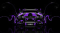 Toyota-Aristo-JDM-Tuning-Front-Violet-Plastic-Car-2014-HD-Wallpapers-design-by-Tony-Kokhan-[www.el-tony.com]