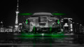 Toyota-Celica-JDM-Tuning-Front-Crystal-City-Car-2014-Green-Neon-HD-Wallpapers-design-by-Tony-Kokhan-[www.el-tony.com]