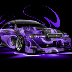 Toyota Chaser JZX100 Super Abstract Car 2014