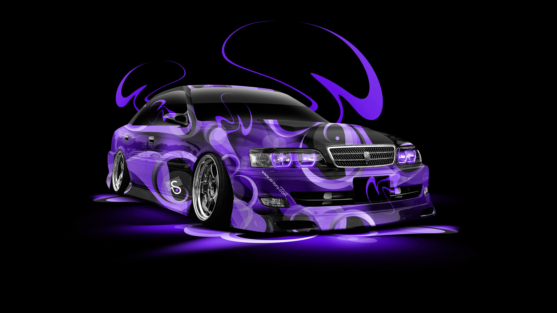 Wonderful ... Toyota Chaser JZX100 Super Abstract Car 2014