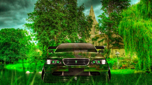 Toyota-Cresta-JZX100-JDM-Tuning-Front-Crystal-Nature-Car-2014-HD-Wallpapers-design-by-Tony-Kokhan-[www.el-tony.com]