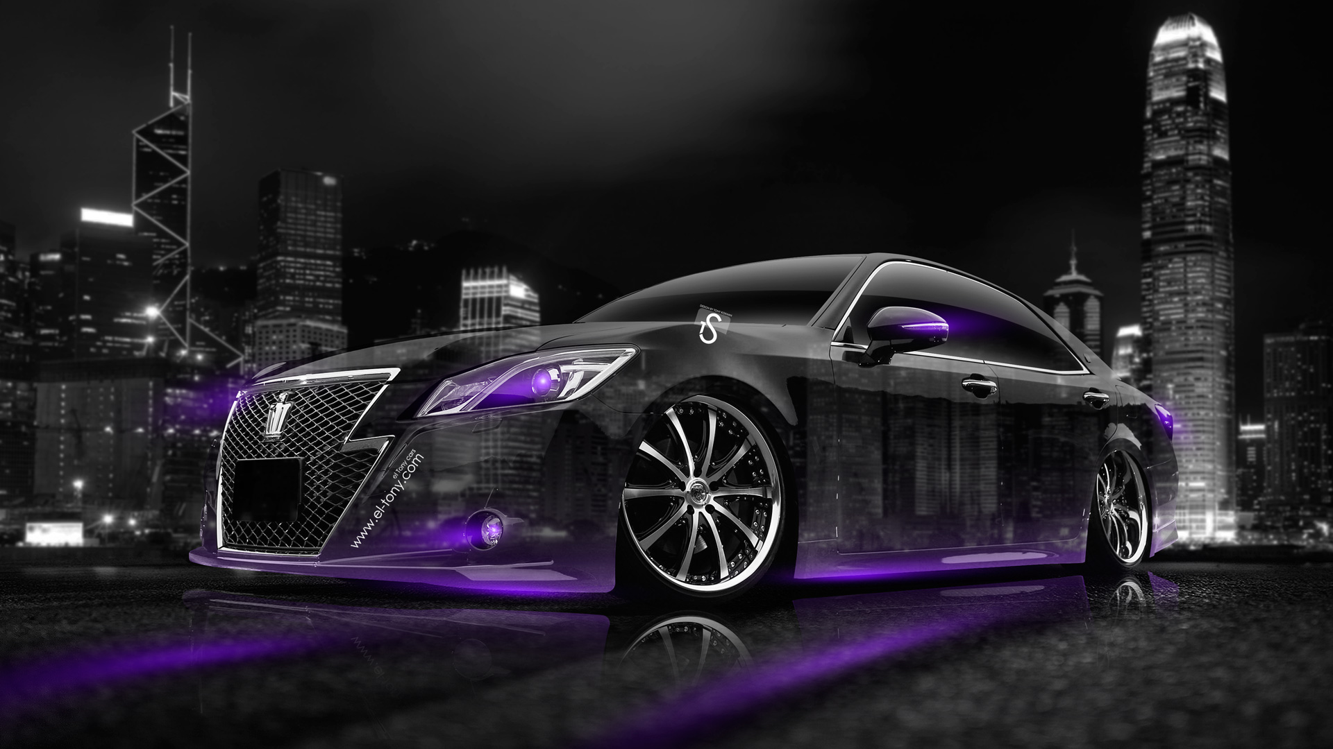 Perfect Toyota Crown Athlete Crystal City Car 2014