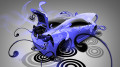 Toyota-GT-86-Super-Plastic-Blue-Neon-Car-2014-HD-Wallpapers-design-by-Tony-Kokhan-[www.el-tony.com]